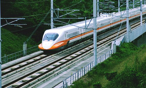 New high-speed railway line
