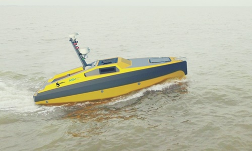 China unveils world's first robotic boat to launch sounding rockets